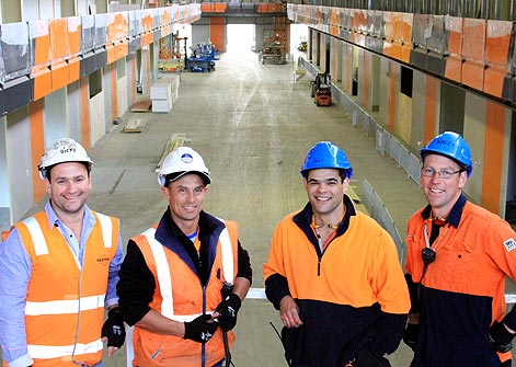 Melbourne Market Relocation Project
