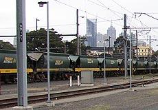 North Melbourne Train Wash