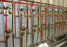 PICAC thermostatic mixing valves testing