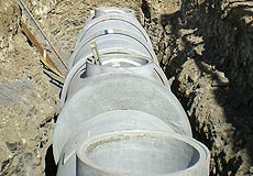 Rainwater inground tanks